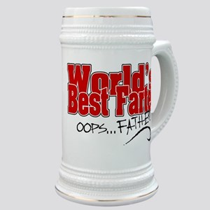 World's Best Farter (oops.. FATHER!) Stein