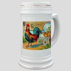 Vintage Easter Rooster Stein
