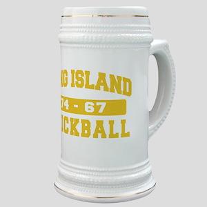 Long Island Stickball Stein