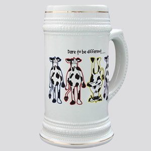 Dare to be Different Cows Stein