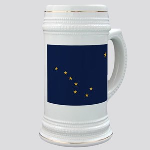 Flag of Alaska Stein