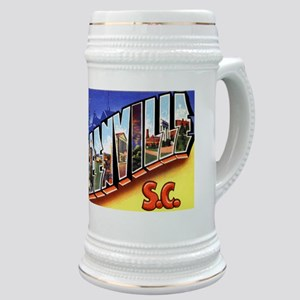 Greenville South Carolina Greetings Stein