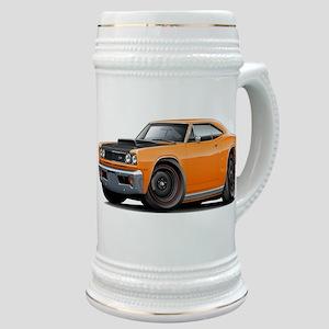 1969 Super Bee A12 Orange Stein