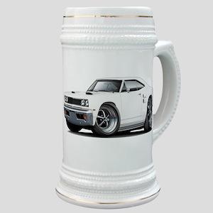 1969 Coronet White Car Stein