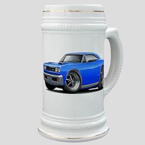 1969 Super Bee Blue Car Stein