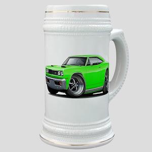 1969 Super Bee Lime Car Stein