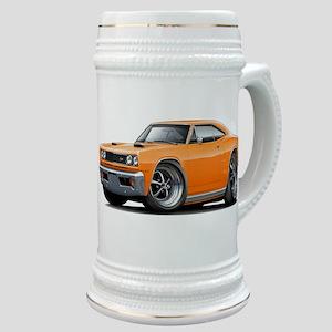 1969 Super Bee Orange Car Stein
