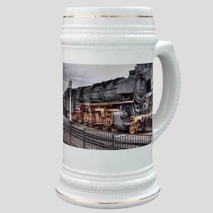 Vintage Locomotive Steam Train Stein