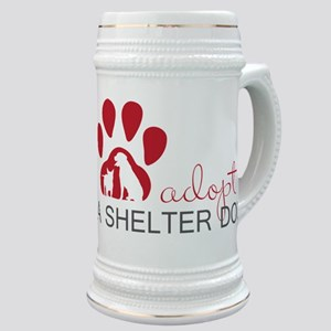 Adopt a Shelter Dog Stein