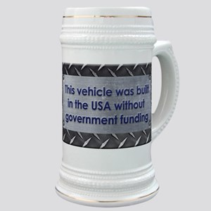 Built in the USA Stein