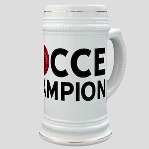 Bocce Champion Stein