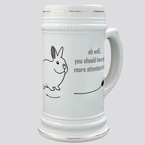 oh well... (bunnies chew cabl Stein