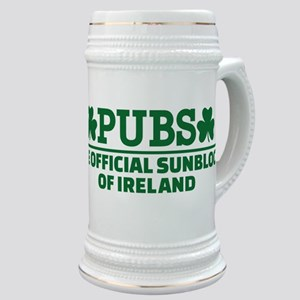 Pubs official sunblock of Ireland Stein
