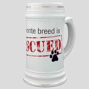 Favorite Breed Is Rescued Stein