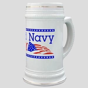 Proud Navy Mom Stein