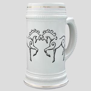 Celtic Horses Stein
