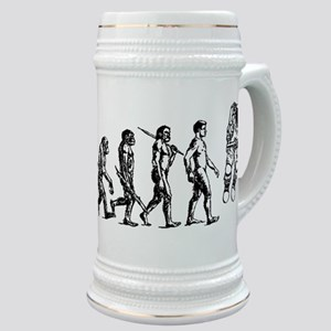 Astronaut Evolution Stein