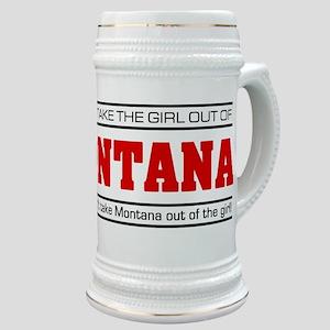 'Girl From Montana' Stein