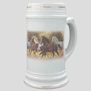 Running Free Horses Stein