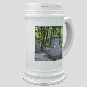 20th Maine on Little Round Top Stein