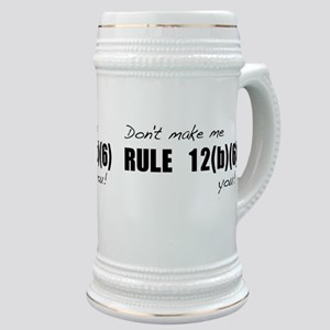 Don't make me RULE 12(b)(6) y Stein