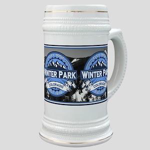 Winter Park Blue Stein