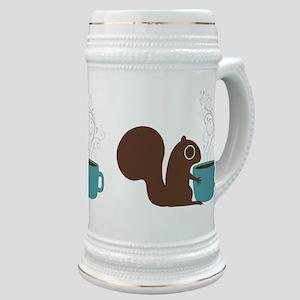 Coffee Squirrel Stein