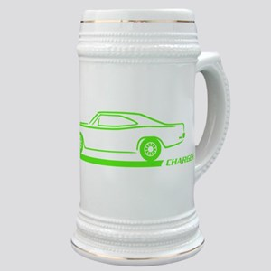 1968-70 Charger Lime Car Stein