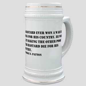 Patton Quote - Die Stein
