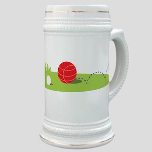 Bocce Ball Game Stein