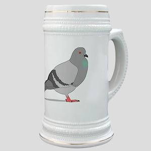 Cartoon Pigeon Stein