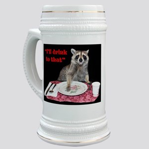 Raccoon Stein