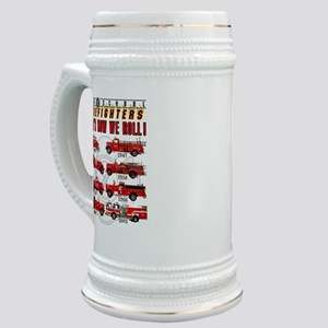 FIREFIGHTERS HOW WE ROLL Stein