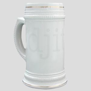 Idjits (White) Stein
