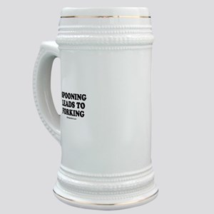Spooning leads to forking / party humor Stein