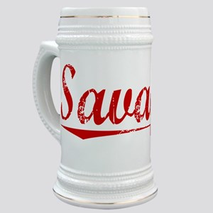 Savage, Vintage Red Stein