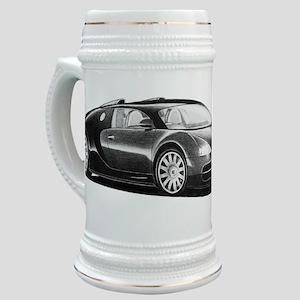 Veyron clock Stein