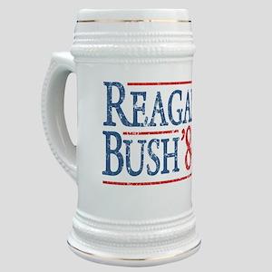 reagan bush 84 t shirt Stein
