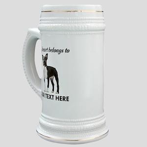 Personalized Boston Terrier Stein