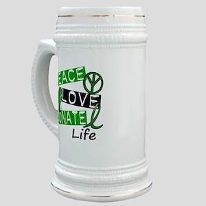 PEACE LOVE DONATE LIFE (L1) Stein