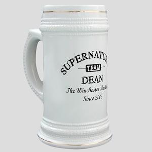 SUPERNATURAL Team DEAN black Stein