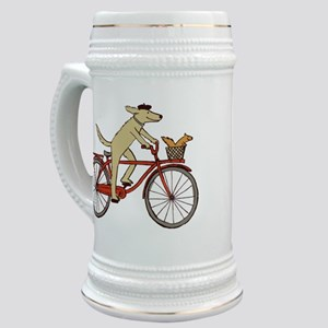 Dog & Squirrel Stein