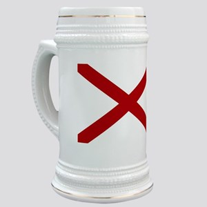 Alabama State Flag Stein