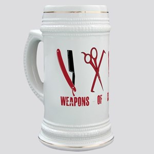 Barber Red Tools of the Trade Dk shirt Stein