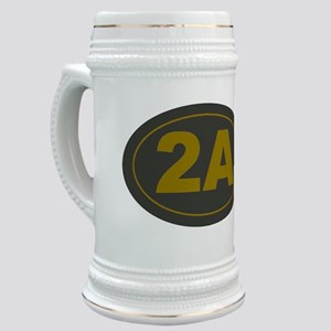 2A Oval_Dark Olive/HE Yellow Stein