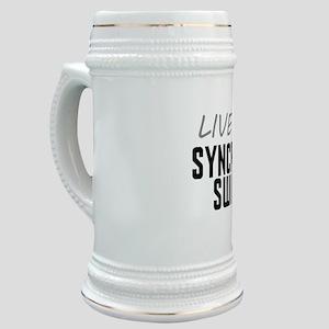 Live Love Synchronized Swimming Stein