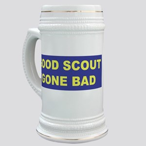 Good Scout Gone Bad (Blue) Stein