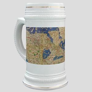 Al-Idrisi's world map, 1154 Stein
