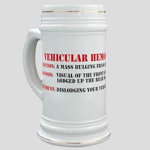 Vehicular hemorroid sticker Stein