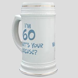 60th birthday excuse Stein